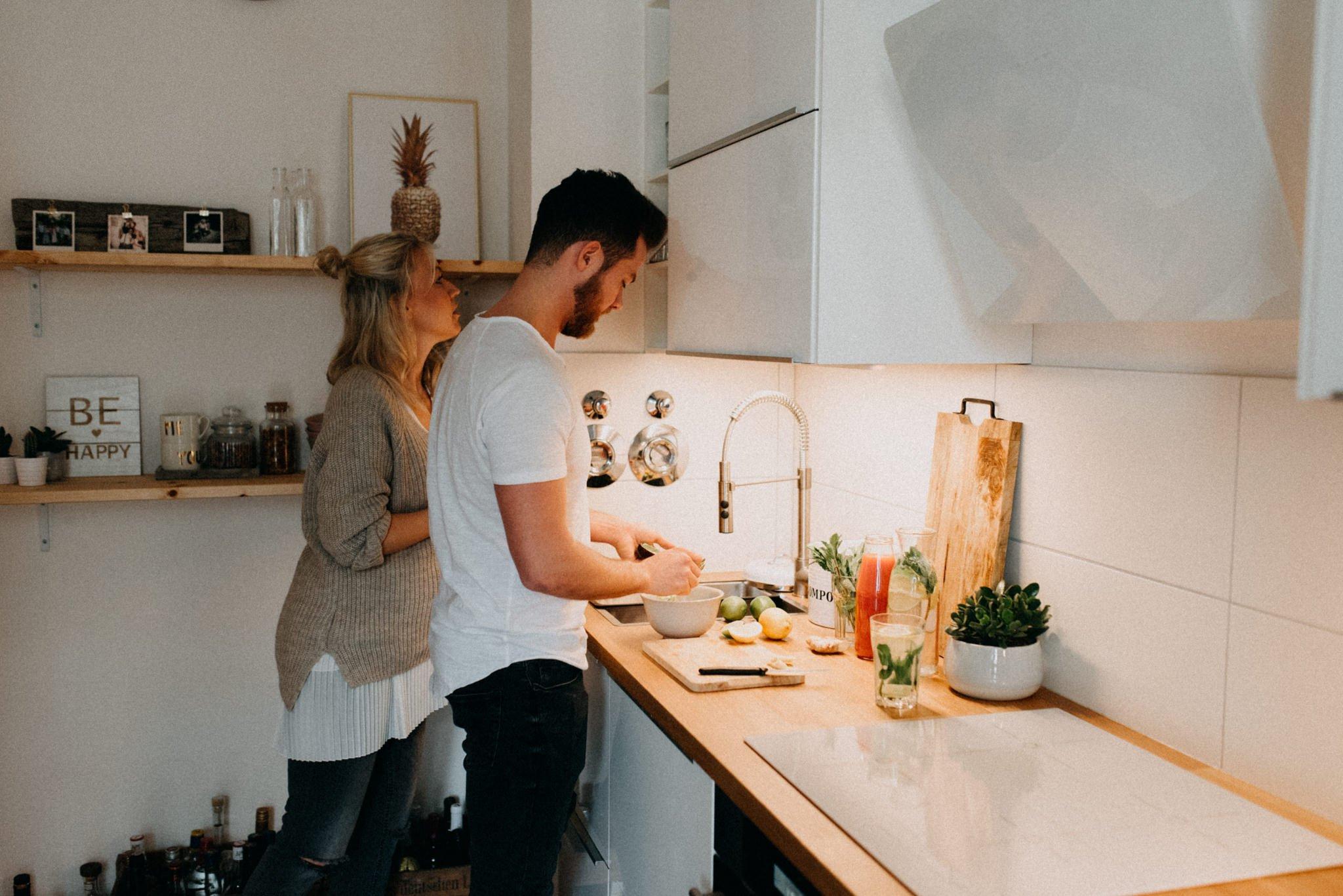 Homestory - Küche, Portraitshooting in Darmstadt