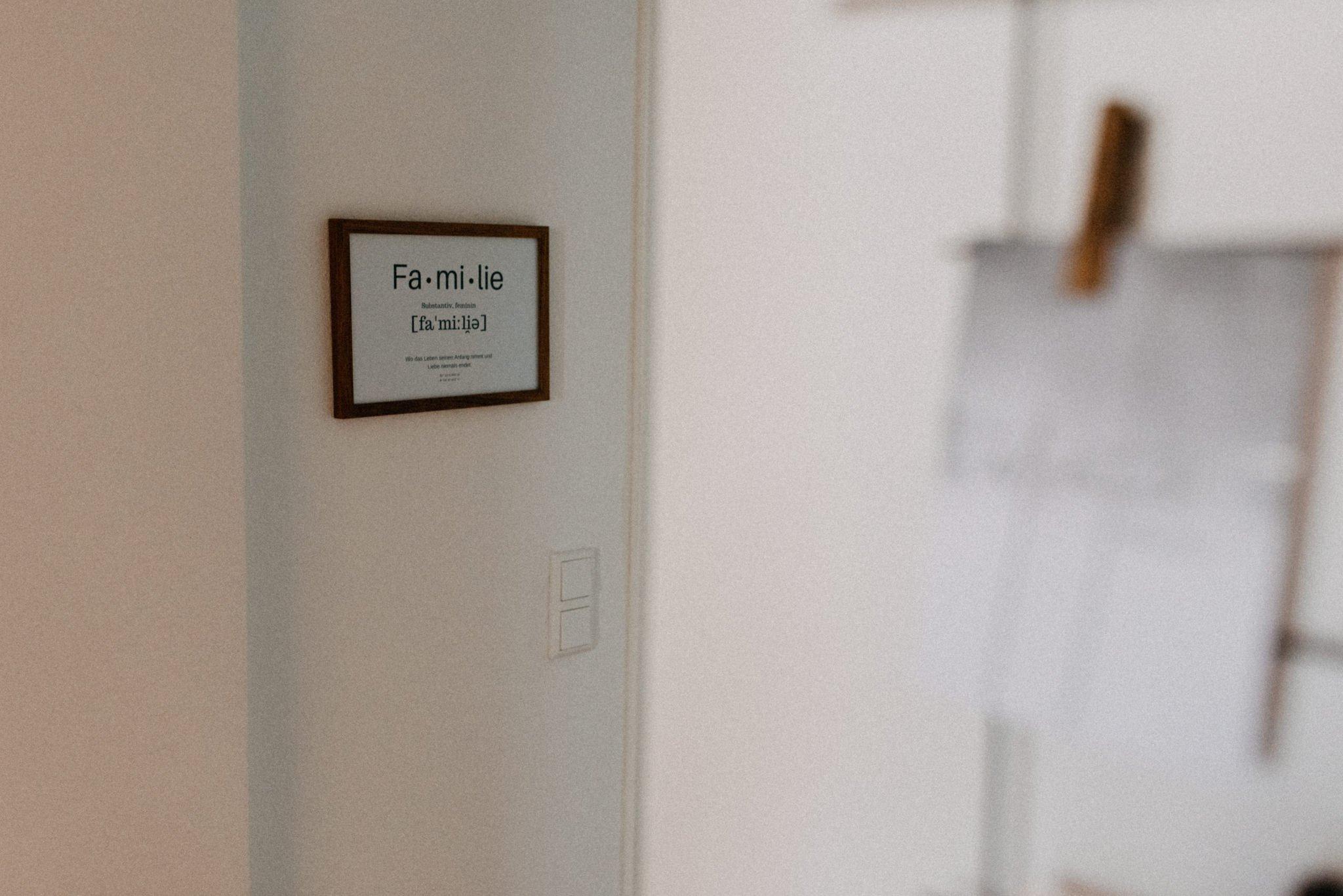 Homestory - Schlafzimmer, Portraitshooting in Darmstadt